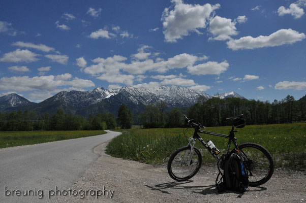 mountain biking munich-garmisch II
