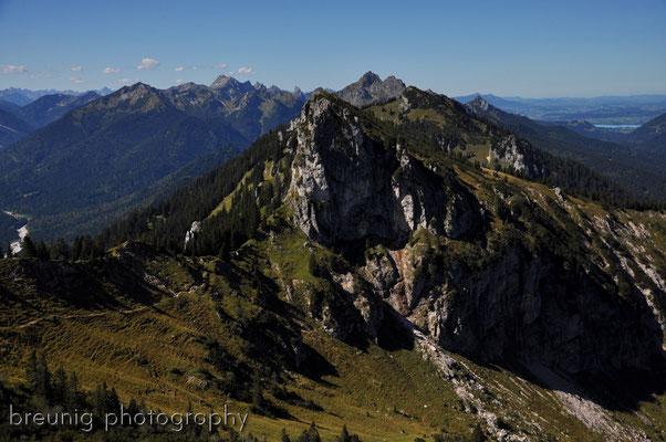 ammergauer alps: hennenkopf