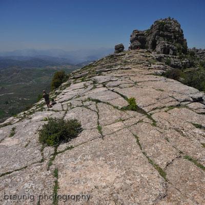 paraje natural torcal de antequera V - karst pur und wilde landschaften