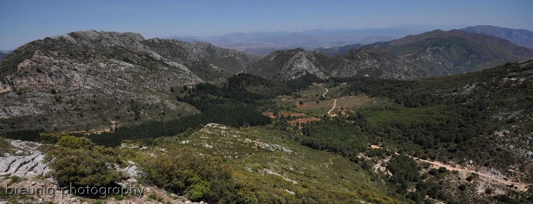serra blanca im hinterland von marbella II