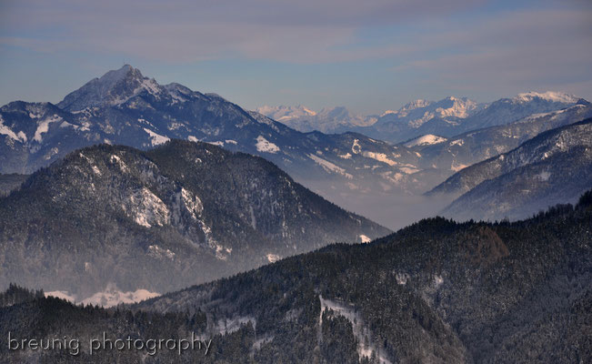 neureuth / tegernsee III - view to wendelstein