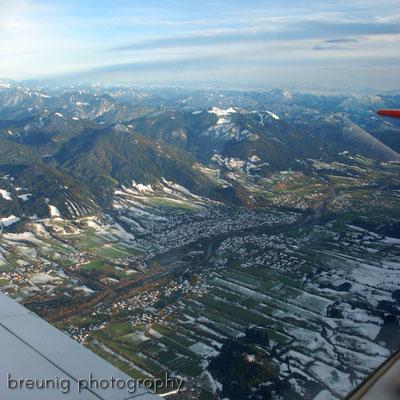 pleasure panorama flight VI: passing lenggries