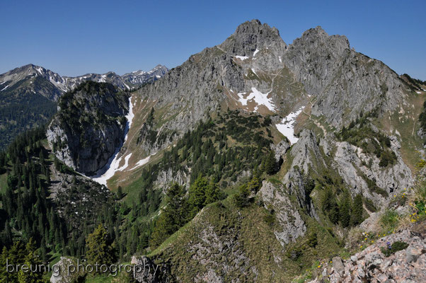 ammergauer alps: klammspitze I