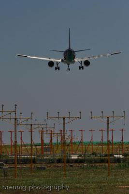 landeanflug / plane spotting malaga