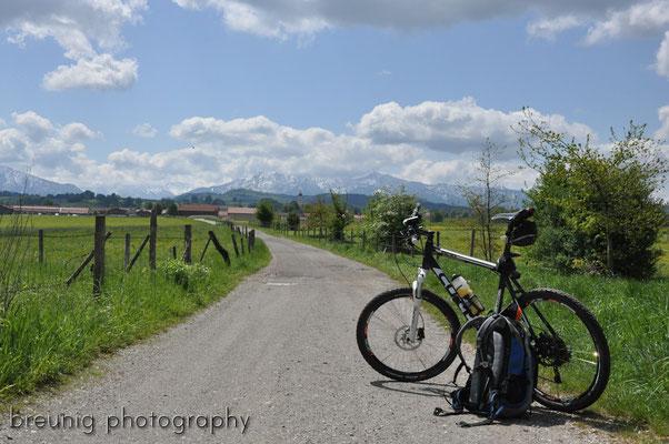 mountain biking munich-garmisch I