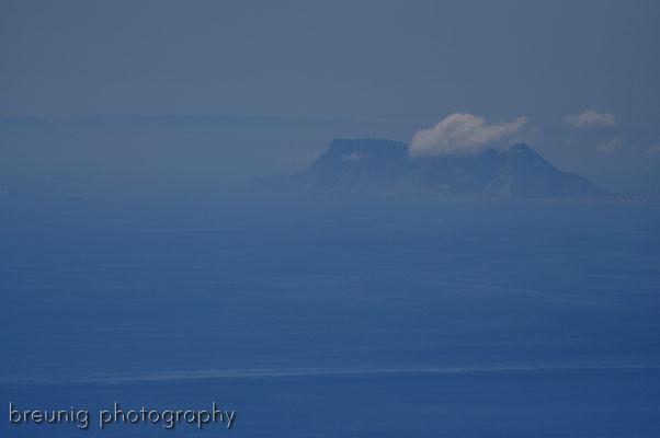 serra blanca im hinterland von marbella IV - blick zum felsen von gibraltar .. distanz 60km luftlinie