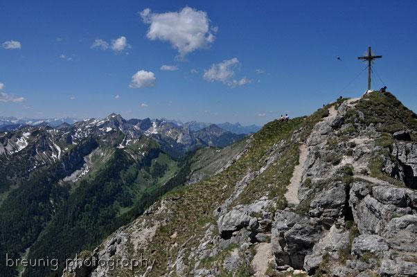 ammergauer alps: klammspitze IV