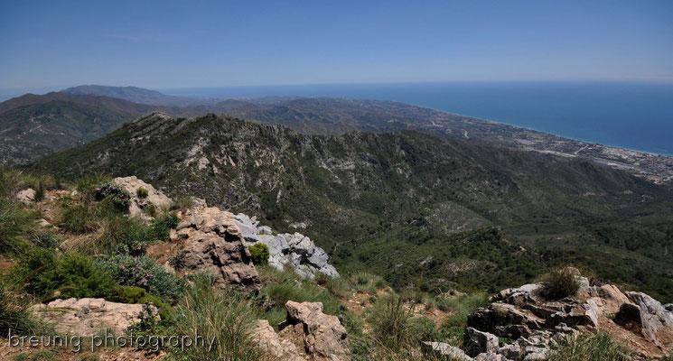 serra blanca im hinterland von marbella III - blick auf die costa del sol