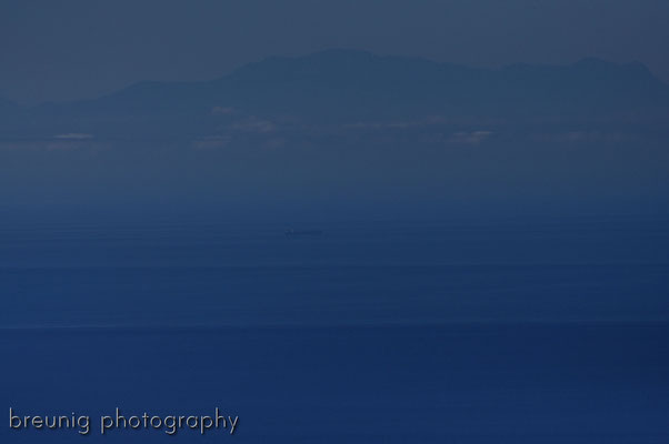 serra blanca im hinterland von marbella V - blick nach afrika / atlas-gebirge .. distanz 150km luftlinie (eher mehr)