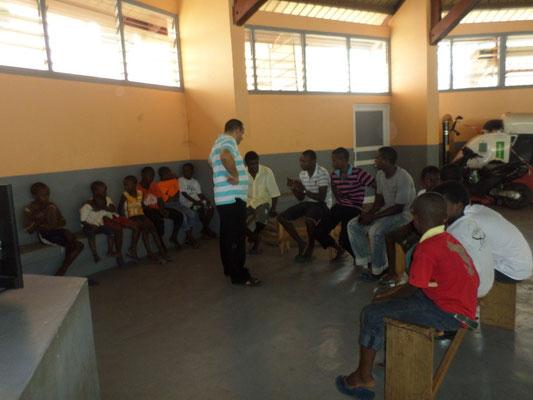 Début de réunion dominical