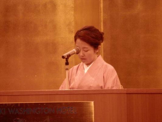 グループ研修報告会 宮崎 小森