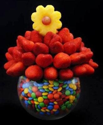 B  67       chico  $ 450     Grande  $ 700 Fresas pueden ir con chocolate