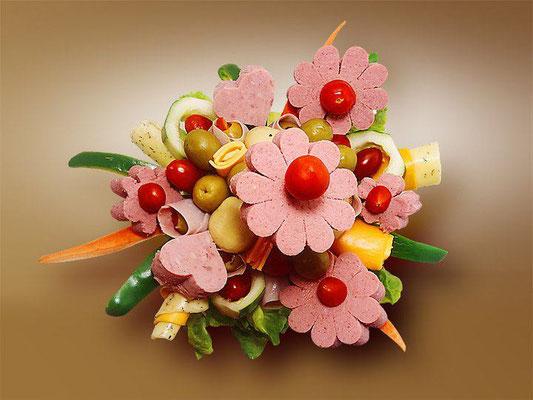 Bouquet de Jamón 1    $ 1100