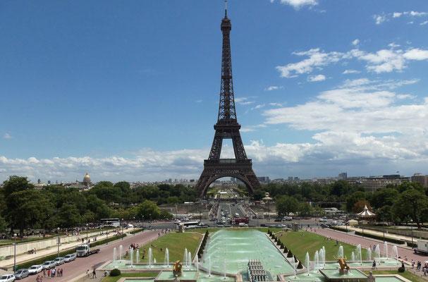 Eiffelturm / Trocadéro