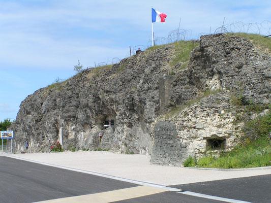 Eingang zum Fort Douaumont