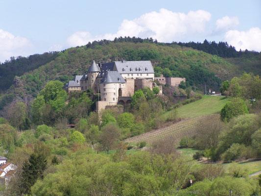 Le château fort d´Ebernburg