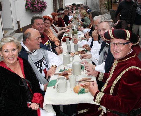Le dîner des chevaliers