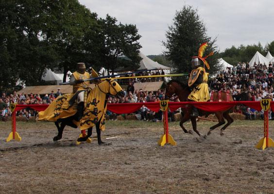 Le tournoi des chevaliers