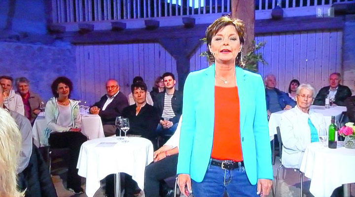 Monika Fasnacht moderierte ihre letzten Samstig-Jass-Sendungen.