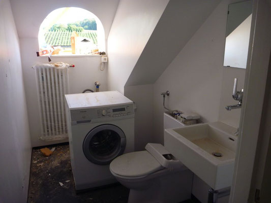 WC Waschmaschine