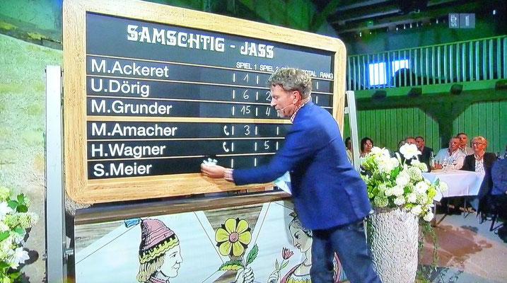 Susanne bleibt mit 3 Differenz-Punkten Champion.