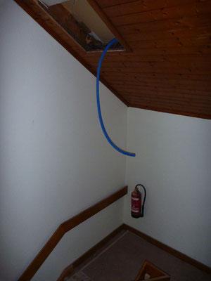 Treppe zum 1. Stock