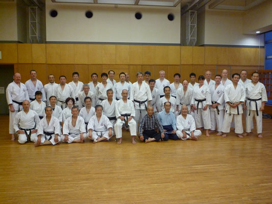 Three Members of Wadokai Deutschland Sohonbu visited JKF Wado-Kai in October 2017.
