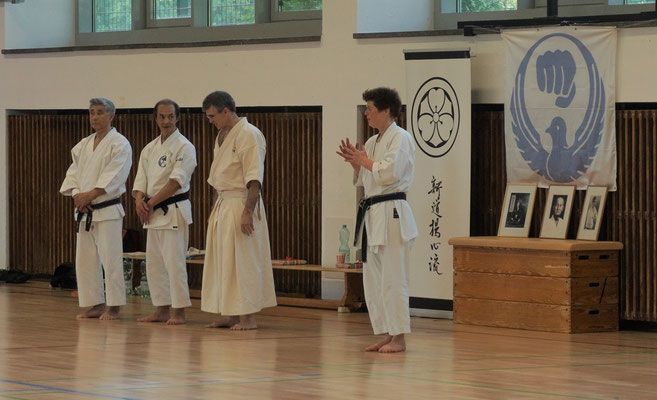 WADO AND TSYR FRIENDSHIP SEMINAR WITH TOBY THREADGILL (USA), SHUZO IMAI (GERMANY) AND TRAN HIEU MINH (FRANCE) ON 12TH AND 13TH MAY, 2018