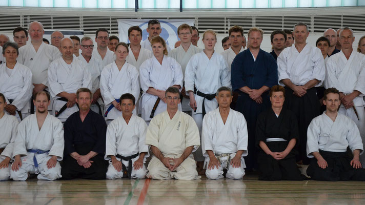 Wado and TSYR Pentecost Seminar with Toby Threadgill and Shuzo Imai in Berlin, May 14 - 16, 2016