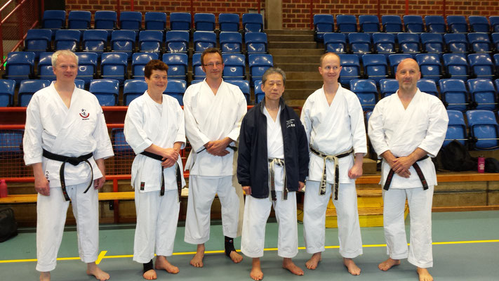 Wado Seminar with Koichi Shimura in Gothenburg 19 – 21 May 2017. The German group.