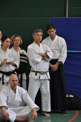 Wado Seminar with Toby Threadgill and Bob Nash 23 and 24 February 2013 in Berlin