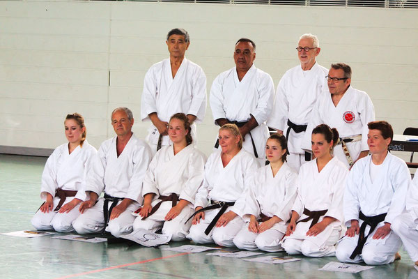 Wado Pentecost Seminar with Shuzo Imai and Takamasa Arakawa 2013 in Berlin, Dan Examination