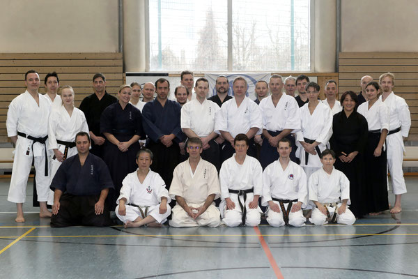 Wado and TSYR seminar with Toby Threadgill (USA) and Koichi Shimura (Japan)  on 17th and  18th  February, 2018 in Berlin. TSYR participants