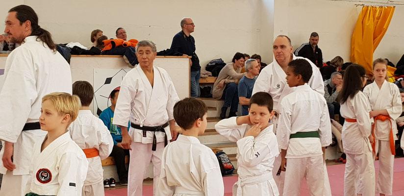 JKF Wado-Kai Seminar in Budapest with Shuzo Imai (9. Dan) and Christina Gutz (7. Dan), 18 - 20 January 2019