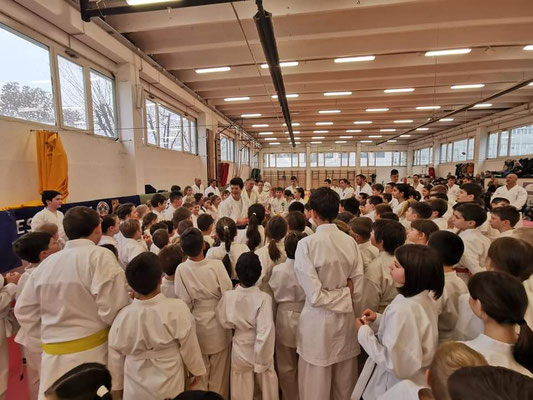 JKF Wado-Kai Seminar leaded by Shuzo Imai (9. Dan) and Christina Gutz (7. Dan) in Budapest, 24 - 26 January 2020