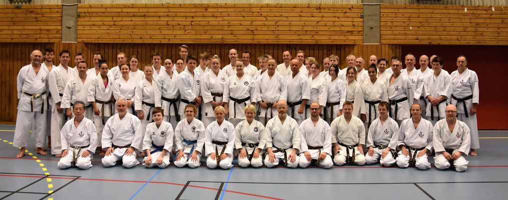 Wado Seminar with Koichi Shimura in Gothenburg 19 – 21 May 2017.