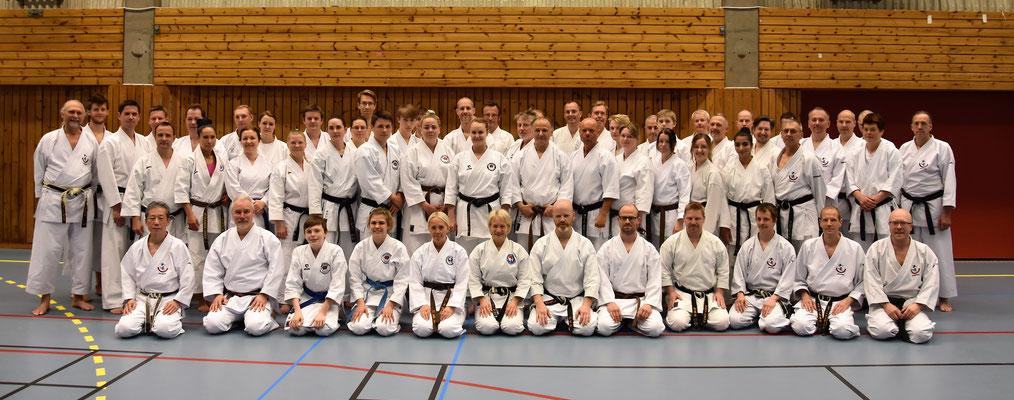 Wado Seminar with Koichi Shimura in Gothenburg 19 – 21 May 2017.