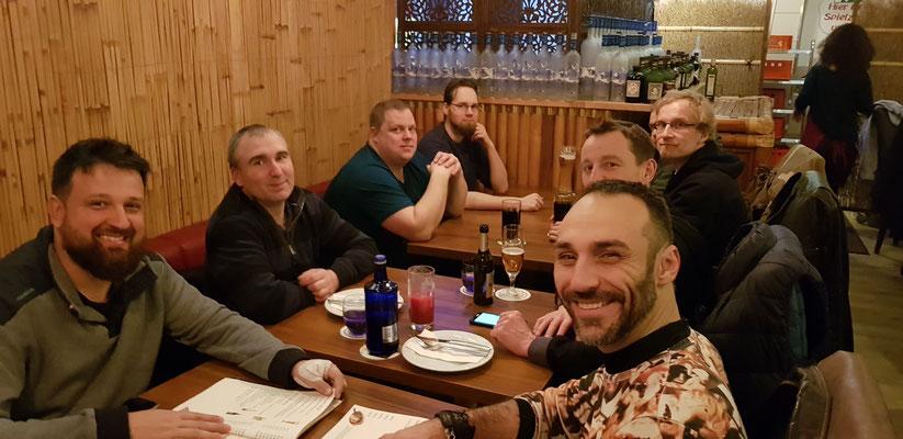 Wado und TSYR Lehrgang mit Koichi Shimura (Japan) und Toby Threadgill (USA) am 16. und 17. Februar 2019 in Berlin.