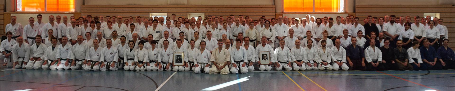 Wado und TSYR Lehrgang mit Koichi Shimura (Japan) und Toby Threadgill (USA) am 16. und 17. Februar 2019 in Berlin