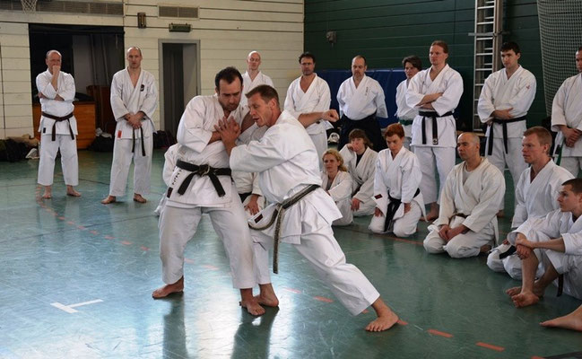 Wado and TSYR Seminar with Toby Threadgill and Robbie Smith 22 and 23 February 2014 in Berlin