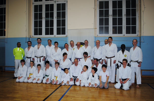 Karate Club Nord e. V.: Jubilee seminar on 26 and 27 November 2016 in Berlin.