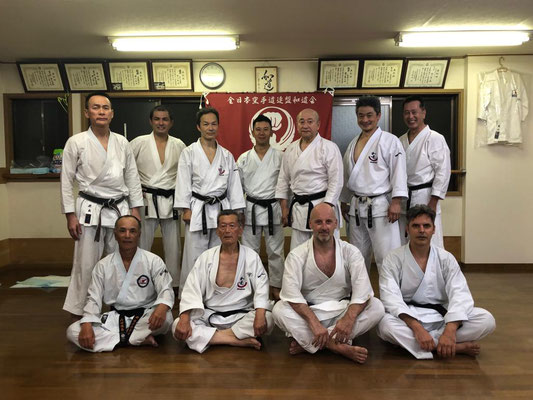 Tokyo 2019 Japan Intensive - Kojama Dojo Kita Kamakura