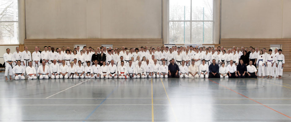 Wado and TSYR seminar with Toby Threadgill (USA) and Koichi Shimura (Japan)  on 17th and  18th  February, 2018 in Berlin. All participants