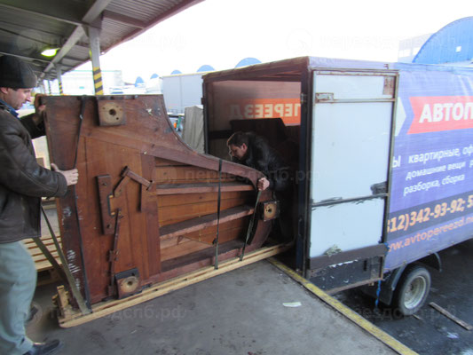 Перевозка роялей СПб