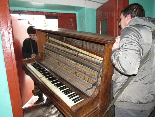 Перевезти фортепиано в СПб