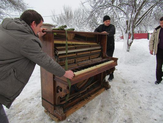Перевозка фортепиано недорого