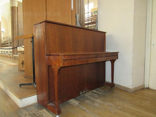 Перевозка фортепиано с грузчиками