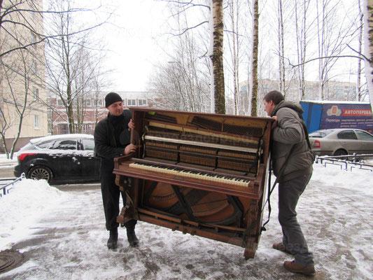 Перевезти фортепиано СПб