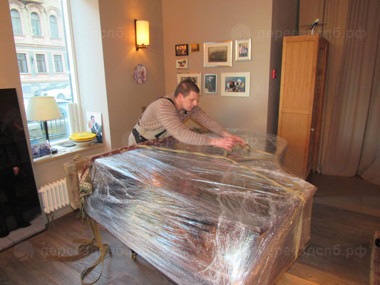 Перевозка рояля в СПб