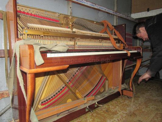 Перевозка фортепиано в СПб
